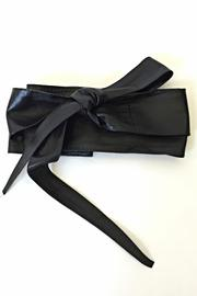 Italian Collection Black Wrap Belt - Product Mini Image