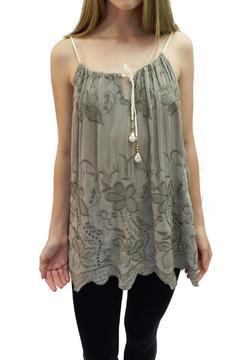 Italian Collection Olive Braid-Strap Top - Alternate List Image