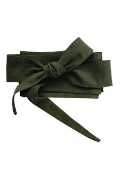 Italian Collection Sage Wrap Belt - Alternate List Image