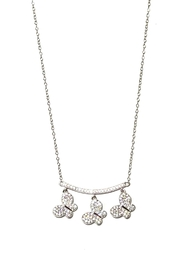 Italian Ice Three Butterfly Necklace - Product Mini Image