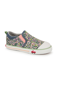 See Kai Run Italya Pink Floral - Alternate List Image