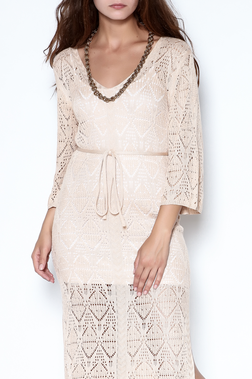 itGirl Cover Up Dress - Front Cropped Image