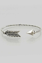 Its Sense Feather Cuff Bracelet - Product Mini Image