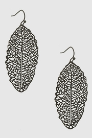 Its Sense Leaf Earrings - Product Mini Image