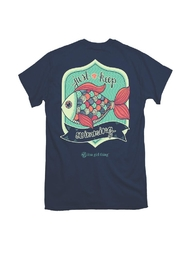 itsa girl thing Just-Keep-Swimming Youth Shirt - Product Mini Image
