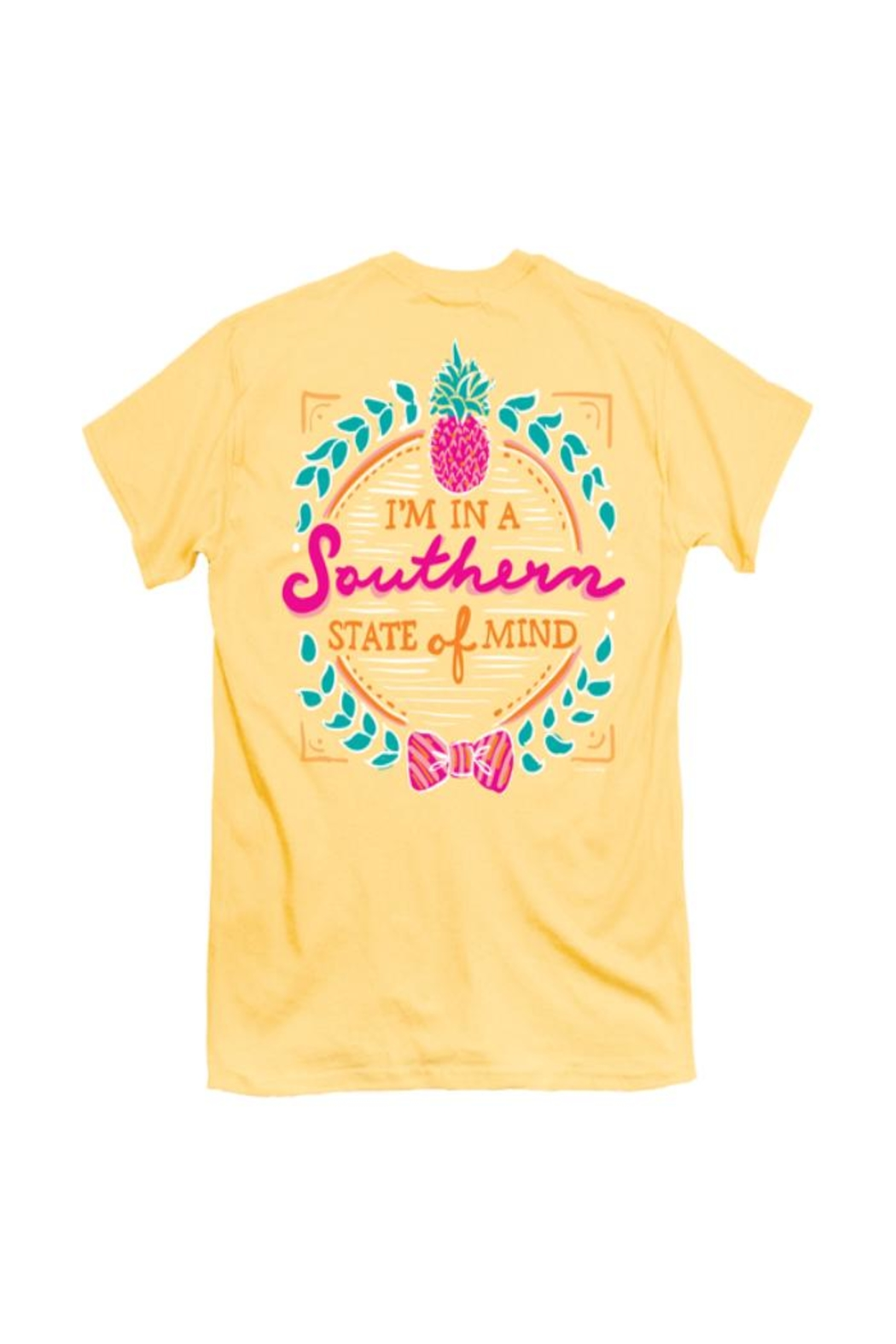 itsa girl thing Southern-State-Of-Mind Adult Shirt - Front Cropped Image