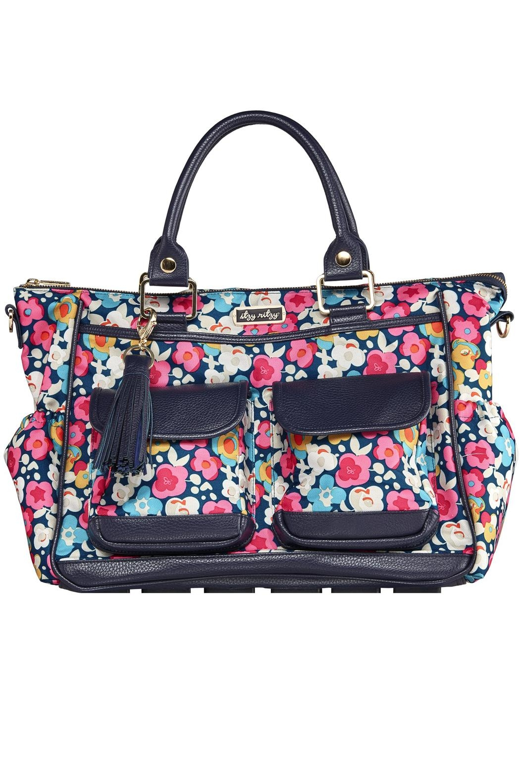 Itzy Ritzy Convertible Diaper Bag - Front Cropped Image