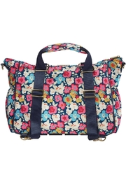 Itzy Ritzy Convertible Diaper Bag - Front full body