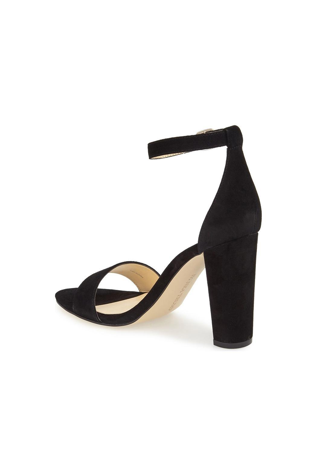 IVANKA TRUMP Black Emalyn Heel - Front Full Image