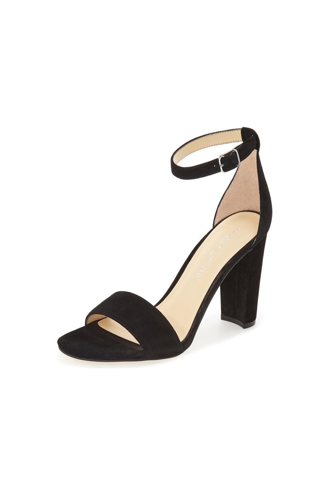 IVANKA TRUMP Black Emalyn Heel - Front Cropped Image