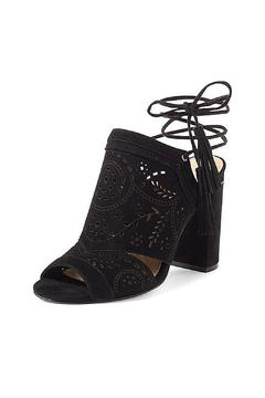 IVANKA TRUMP Black Lace Up Heel - Product List Image
