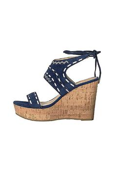 IVANKA TRUMP Blue Wedge - Alternate List Image