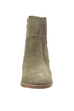 IVANKA TRUMP Green Suede Bootie - Alternate List Image