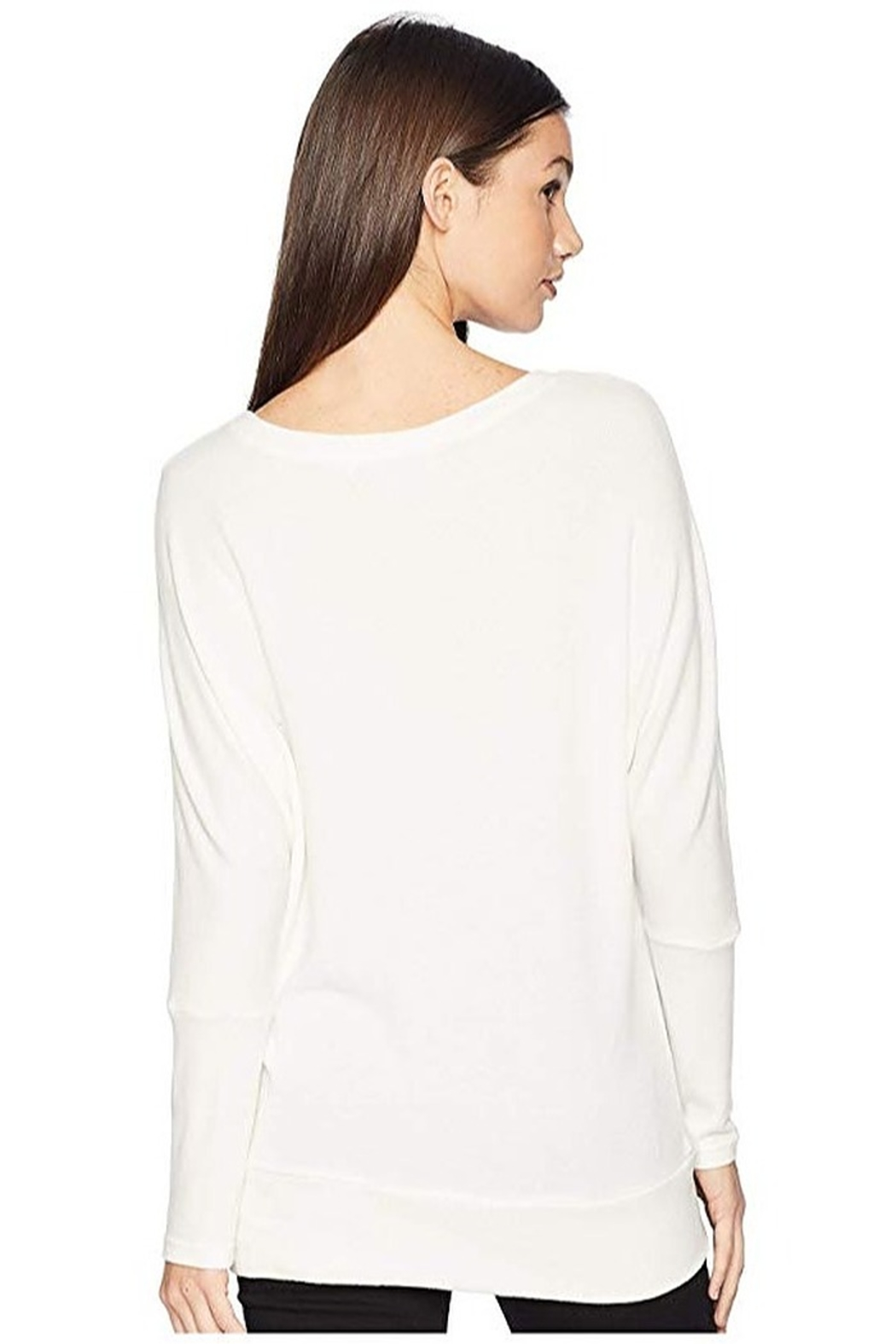 Cupcakes and Cashmere Ivery Super Soft Dolman Pullover - Side Cropped Image
