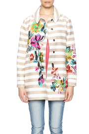 Ivko Floral Embroidery Jacket - Side cropped