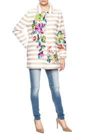 Ivko Floral Embroidery Jacket - Front full body
