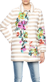 Ivko Floral Embroidery Jacket - Front cropped