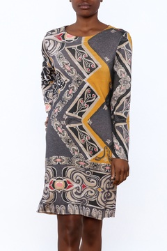 Shoptiques Product: Floral Relief Print Dress