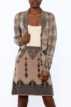 Shoptiques Product: Jacquard Print Jacket