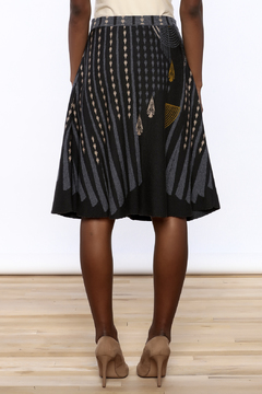Shoptiques Product: Jacquard Print Skirt