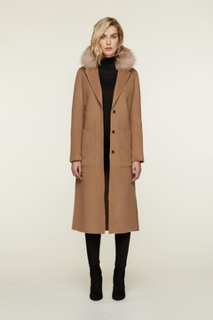 Shoptiques Product: Ivonne-Fx Wool Coat