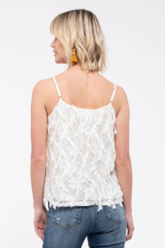 Mine and E&M Ivory 3D Textured Top - Alternate List Image