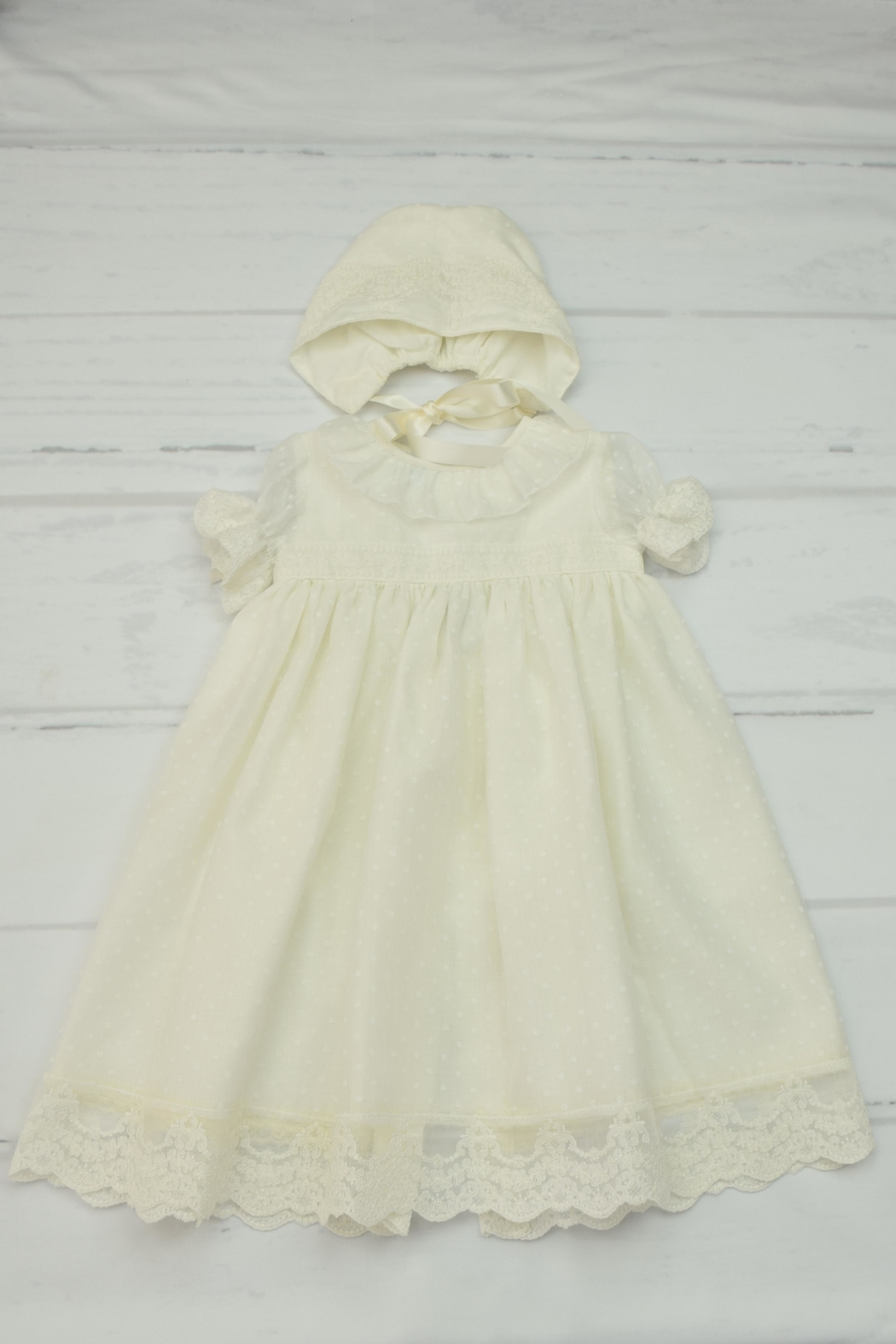 Granlei 1980 Ivory Baptism Gown from Florida by Yoyo Children\'s ...