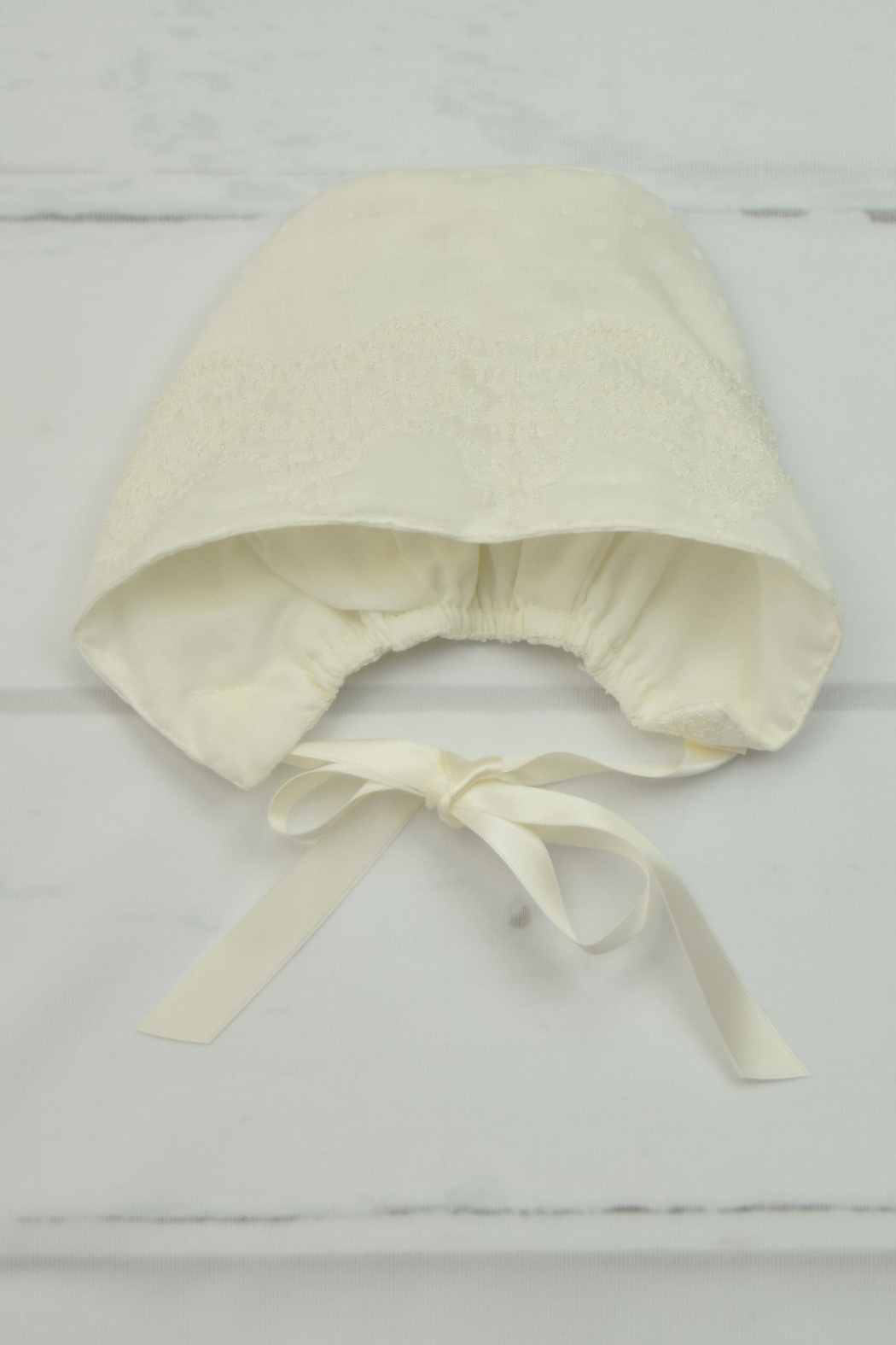 Granlei 1980 Ivory Baptism Gown - Side Cropped Image