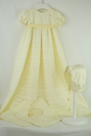 Cuore Baby Ivory Baptism Gown - Front cropped