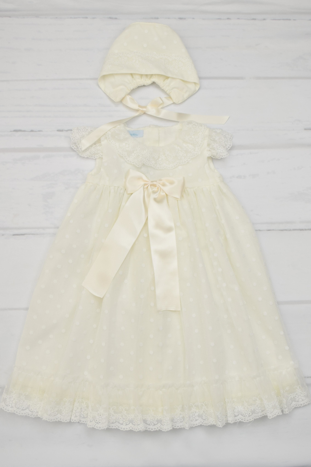 Granlei 1980 Ivory Baptism Gown - Main Image
