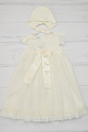Granlei 1980 Ivory Baptism Gown - Front cropped
