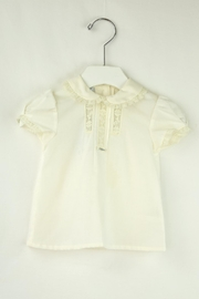 Foque Ivory Dots Baptism - Side cropped