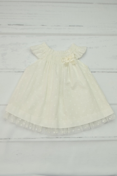 Granlei 1980 Ivory Dress & Bloomer - Product List Image