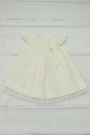 Granlei 1980 Ivory Dress & Bloomer - Front cropped