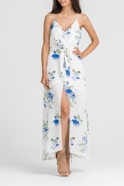 Lush Ivory Floral Dress - Product Mini Image