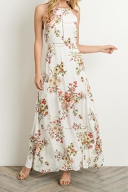 Gilli Ivory Floral Maxi-Dress - Product Mini Image