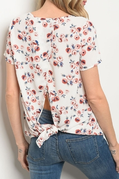 rokoko Ivory Floral Top - Alternate List Image