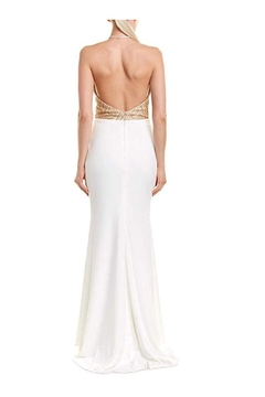 Issue New York Ivory/Gold Evening Gown - Alternate List Image