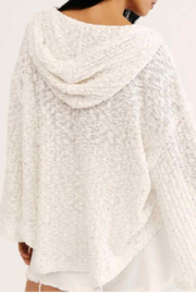 Free People Ivory hoodie - Front full body
