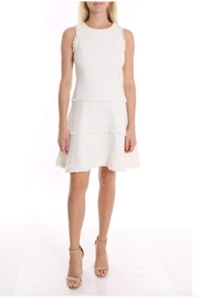 LIKELY Ivory Jewel Dress - Front cropped