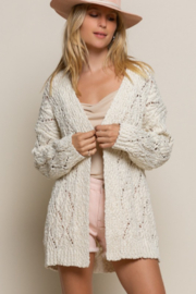 POL  Ivory Knit Cardigan - Product Mini Image