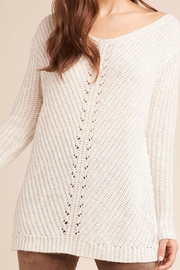 BB Dakota Ivory Knit Sweater - Product Mini Image