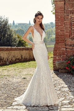 Shoptiques Product: Ivory Lace Bridal Gown