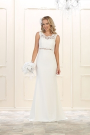 May Queen  Ivory Lace Bridal Gown - Product Mini Image