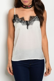 Roly Poly Ivory Lace Cami - Product Mini Image