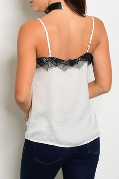 Roly Poly Ivory Lace Cami - Alternate List Image