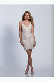 Dave and Johnny Ivory Lace Cocktail - Product Mini Image