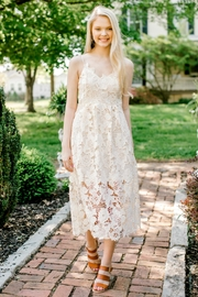 Izzie's Boutique Ivory Lace Dress - Product Mini Image
