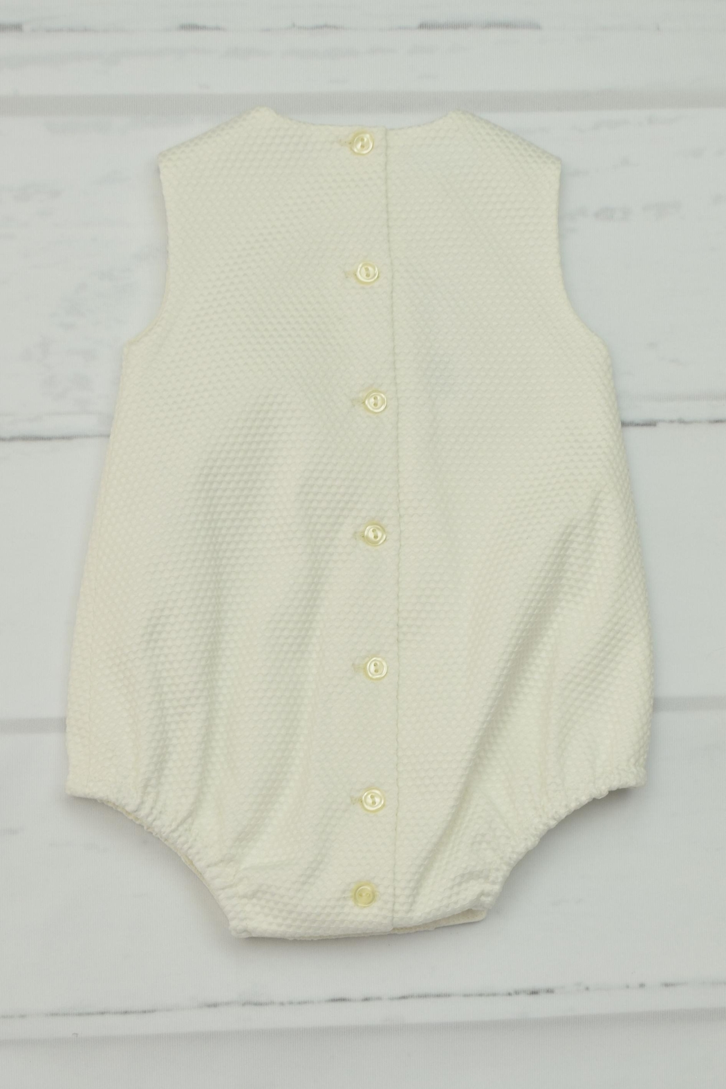 Granlei 1980 Ivory Lace Onesie - Front Full Image
