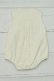 Granlei 1980 Ivory Lace Onesie - Front full body